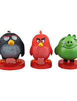 Angry Bird PVC 6cm Anime Action Figures Model Toys Doll Toy 1set