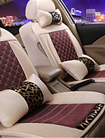 F Stone Striped Linen Car Seat Four Seasons Padding Ice Seat New Block Seat Cushion
