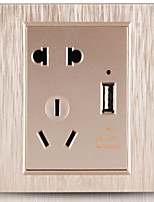 usb interrupteur mural prise