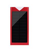 12000mAhmAhbanco do poder de bateria externa Recarga com Energia Solar / Lanterna 12000mAh 1000mA Recarga com Energia Solar / Lanterna