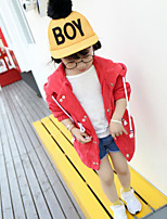 Girl's Casual/Daily Solid Suit & BlazerCotton Winter / Fall Red / Yellow
