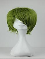 nouveau Kuroko no basuke midorima Shintaro 32cm courte armée synthétique vert perruque cosplay