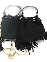 Women's Newest Velvet Hand Bag with Tassel
