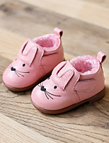 Girl's Loafers & Slip-Ons Comfort Leather Casual Black Pink