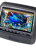 9 Inch Car Headrest DVD Player Monitor With 800x480 Screen Built-in Speaker Support USB SD Games Remote Control