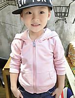 Girl's Casual/Daily Solid Jacket & CoatCotton Fall Pink