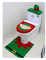 новогодний туалет набор трех частей туалета наборы Christmas Elf