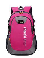 Unisex Canvas Sports / Outdoor Backpack Purple / Blue / Green / Yellow / Orange / Red / Black / Dark Purple