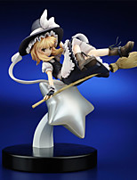 TouHou Project PVC 23cm Anime Action Figures Model Toys Doll Toy  1pc