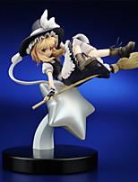 Touhou Project Marisa Kirisame PVC 25cm Anime Action Figures model Toys Doll Toy