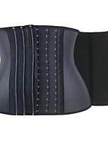 Serre Taille Vêtement de nuit Femme,Sportif / Rétro Couleur Pleine-Moyen Spandex Noir Aux femmes