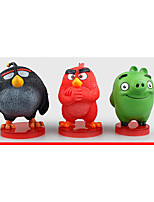 Angry Bird PVC 8.5cm Anime Action Figures Model Toys Doll Toy 1set