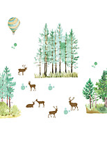 Animals / Botanical / Christmas Wall Stickers Plane Wall Stickers Decorative Wall Stickers,PVC MaterialWashable / Removable /