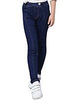 Girl Casual/Daily Solid Pants-Cotton Spring / Fall