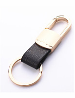 Men's Leather  Metal Car Key Ring 2 Packaged for Sale