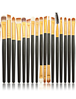 20 Makeup Brushes Set Synthetic Hair Professional / Portable Wood Face / Eye / Lip 6#