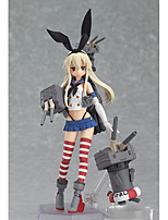 Kantai Collection Shimakaze PVC 15cm Anime Action Figures Model Toys Doll Toy 1pc