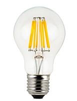 8W E26/E27 Круглые LED лампы A60(A19) 8 COB 780 lm Тёплый белый Регулируемая / Водонепроницаемый V 1 шт.