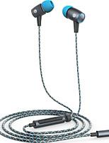 оригинальный AM12 плюс Huawei в наушники-вкладыши встроенный микрофон наушников универсальный 3,5 мм стерео разъем для бас-Hifi