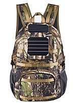 40L L Backpack Camping & Hiking / Climbing Outdoor Wearable / Solar Panel / Laptop Packs Camouflage Nylon BY