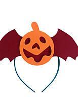 (Pattern is Random)1PC Halloween Pumpkin Witch Head Buckle  Costume Party  Props