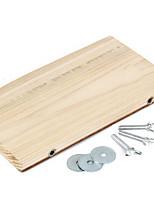 Natural Wood Cage Platform Shelf Jump Board for Small Pet Rabbit Rat Guinea Pig