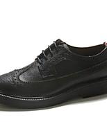 Men's Oxfords Comfort Cowhide Casual Black