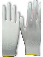 Work Wear Soft And Comfortable Thin Section Of The Hand Protection Gloves  Color White Size 7