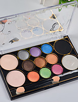 13 Lidschattenpalette Matt Lidschatten-Palette Puder Normal Alltag Make-up