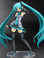 Cosplay Second Generations Open Eyes Hatsune Miku PVC 20cm Anime Action Figures Model Toys Doll Toy