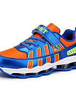 Boy's Sneakers Spring / Summer / Fall / Winter Comfort PU Athletic / Casual Flat Heel Lace-up Blue / Royal Blue Walking