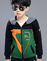 Boy Casual/Daily Print Suit & Blazer,Cotton Winter ¾ Sleeve