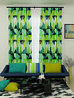 One Panel Curtain Designer , Geometic Living Room Polyester Material Curtains Drapes Home Decoration For Window