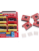 CNC Shield V3  A4988 Stepper Driver for RAMPS 1.4 Reprap 3D Printer