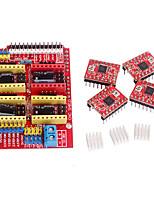 чпу щит v3 драйвер шагового a4988 пандусы 1,4 RepRap 3D-принтер