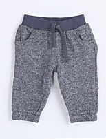 Boy's Casual/Daily Solid PantsCotton Fall Gray