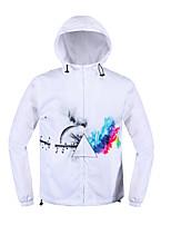 Normal Hoodies Hommes Décontracté / Quotidien simple / Actif,Imprimé Multi-couleur Col Arrondi Manches Longues Coton / PolyesterAutomne /