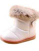 Kid's Shoes Libo New Style Hot Sale Casual / Outdoors Comfort Fashion Warm Snow Boots Fuchsia / White / Pink
