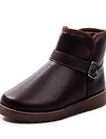 Men's Boots Spring / Fall / Winter Others PU Outdoor / Office & Career / Dress / Casual Flat Heel Others Black / Coffee Others