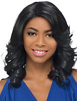 женский парик волны естественный цвет париков для черных женщин синтетические парики париков типа продажа волос