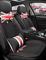 Four Car Seat Cover Fabric Silk Linen Car Gift