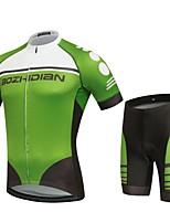 Deportes Maillot de Ciclismo con Shorts Unisex Mangas cortas BicicletaTranspirable / Secado rápido / Resistente al Viento / Diseño