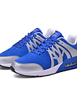 Men's Sneakers Spring / Fall / Winter Comfort Suede Athletic / Casual Flat Heel Lace-up Black / Blue / Royal Blue Running