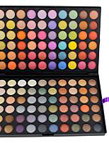 120 Eyeshadow Palette Matte / Shimmer Eyeshadow palette Cream Large Daily Makeup 120-3#