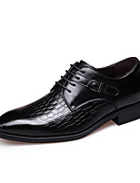 Men's Oxfords Spring / Fall Others Leather / Synthetic Office & Career Flat Heel Others Black / Brown Others