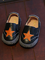 Boy's Loafers & Slip-Ons Comfort Cowhide Casual Black / White