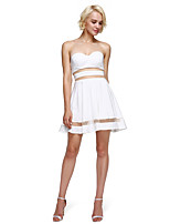 2017 TS Couture® Prom Cocktail Party Dress A-line Sweetheart Short / Mini Jersey