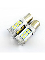2PCS 1156 (BA15S) 27 SMD 4W 1500lm  Wide Voltage  car lights, Reversing Lamp, Tail Lamp (10-24v)