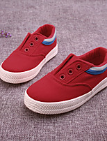 Boy's Flats Comfort Canvas Casual Black Blue Red White