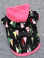 Hunde Kapuzenshirts / Pullover Mehrfarbig Hundekleidung Winter / Frühling/Herbst Sterne Niedlich / Modisch